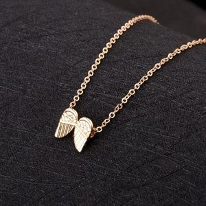 Jewelry - Tiny Angel Wing Necklace